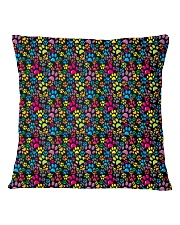 Cat  all over print T-shirt Square Pillowcase back