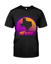 80s Retro Texas T-shirt Classic T-Shirt front