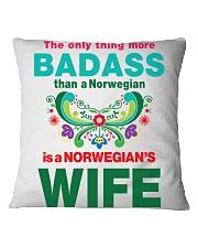 Telling A Norwegian Square Pillowcase thumbnail