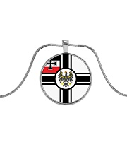 Germany Love Metallic Circle Necklace thumbnail
