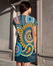 Hippies All-over Dress aos-dress-back-lifestyle-1