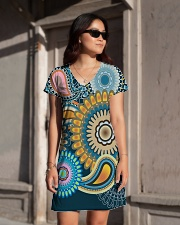 Hippies All-over Dress aos-dress-front-lifestyle-1