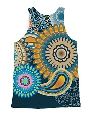 Hippies All-over Unisex Tank back