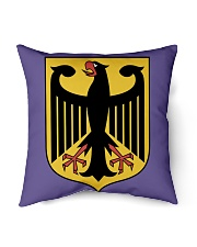 """Germany Flag Indoor Pillow - 18"""" x 18"""" back"""