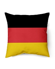 """Germany Flag Indoor Pillow - 18"""" x 18"""" front"""