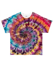 Hippies Color All-over T-Shirt front