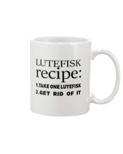 LUTEFISK recipe Mug thumbnail