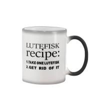 LUTEFISK recipe Color Changing Mug thumbnail