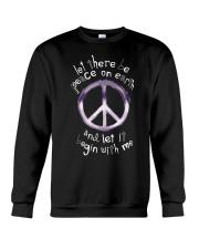 Let there be peace Crewneck Sweatshirt thumbnail