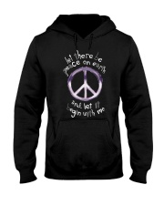 Let there be peace Hooded Sweatshirt thumbnail