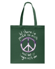 Let there be peace Tote Bag thumbnail