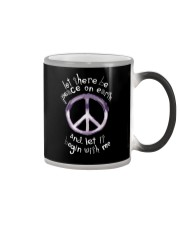 Let there be peace Color Changing Mug thumbnail