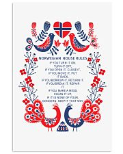 Norwegian House Rules 11x17 Poster front