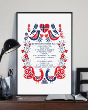 Norwegian House Rules 11x17 Poster lifestyle-poster-2