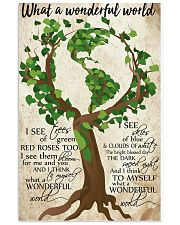 What A Wonderful World Poster 11x17 Poster front