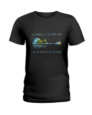 In A World Where You Can Be Anything  Ladies T-Shirt tile