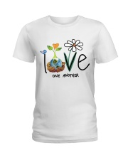 Love One Another Ladies T-Shirt tile