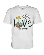 Love One Another V-Neck T-Shirt tile