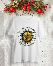 My Only Sunshine Classic T-Shirt lifestyle-holiday-crewneck-front-2