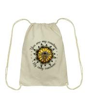 My Only Sunshine Drawstring Bag thumbnail