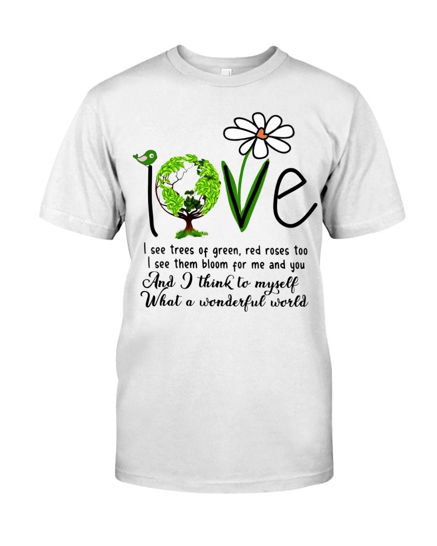 What A Wonderful World Classic T-Shirt