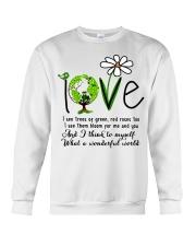 What A Wonderful World Crewneck Sweatshirt thumbnail