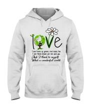 What A Wonderful World Hooded Sweatshirt thumbnail