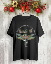 You May Say I'm A Dreamer Classic T-Shirt lifestyle-holiday-crewneck-front-2