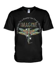 You May Say I'm A Dreamer V-Neck T-Shirt thumbnail