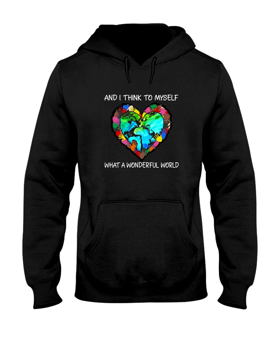 And I Think To Myself  Hooded Sweatshirt