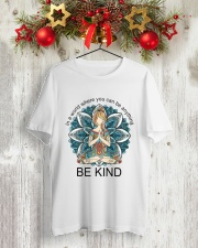 Be Kind Classic T-Shirt lifestyle-holiday-crewneck-front-2