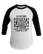 A Bear Kills You Baseball Tee thumbnail