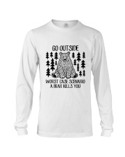 A Bear Kills You Long Sleeve Tee thumbnail
