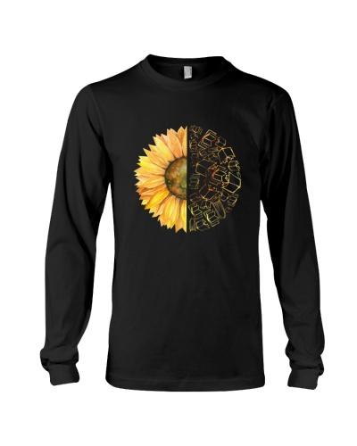 Love Hippie Sunflower