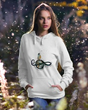 What A Wonderful World Hooded Sweatshirt lifestyle-holiday-hoodie-front-5