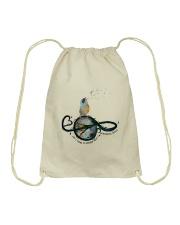 What A Wonderful World Drawstring Bag thumbnail