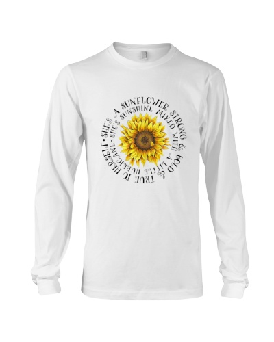 She Is A Sunflower Strong