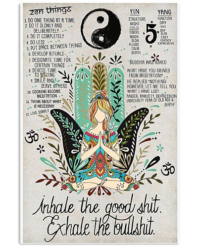 Inhale The Good Poster