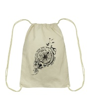 Not All Those Who Wander Are Lost Drawstring Bag thumbnail