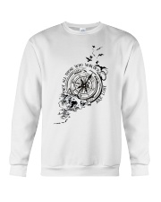 Not All Those Who Wander Are Lost Crewneck Sweatshirt thumbnail