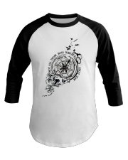 Not All Those Who Wander Are Lost Baseball Tee thumbnail