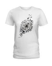Not All Those Who Wander Are Lost Ladies T-Shirt thumbnail