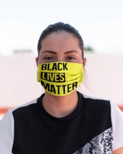BLACK LIVES MATTER Cloth face mask aos-face-mask-lifestyle-03