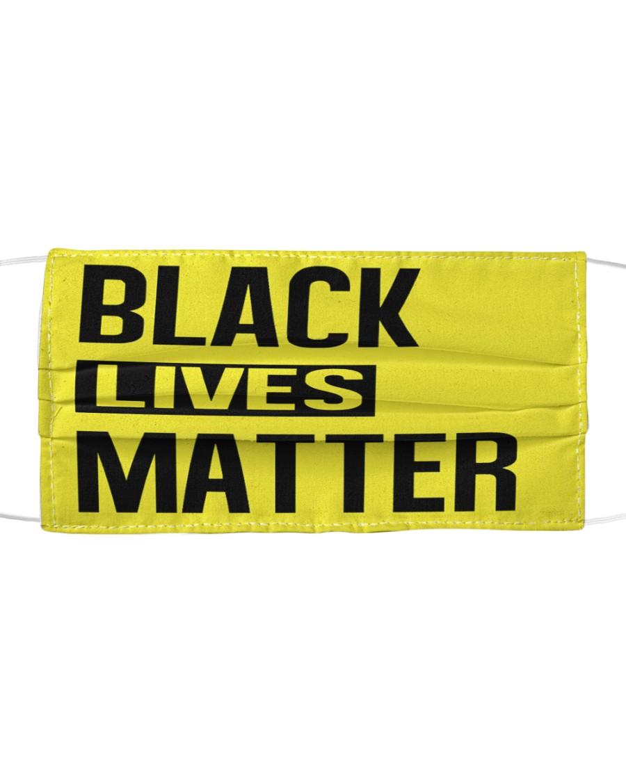 BLACK LIVES MATTER Cloth face mask
