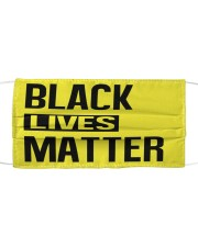 BLACK LIVES MATTER Cloth face mask front