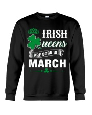 IRISH QUEENS ARE BORN IN MARCH Crewneck Sweatshirt thumbnail