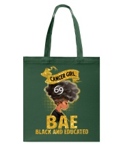 Cancer Black And Educated - Limited Edition Tote Bag thumbnail