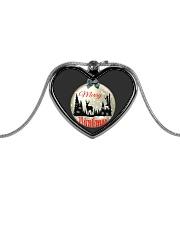 Merry Huntmas Metallic Heart Necklace thumbnail