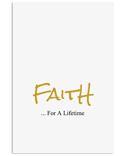 Faith - For A Lifetime