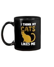 I Think My Cats Like Me CatHolic Mug Mug back